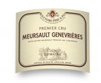 Meursault genevrières Domaine